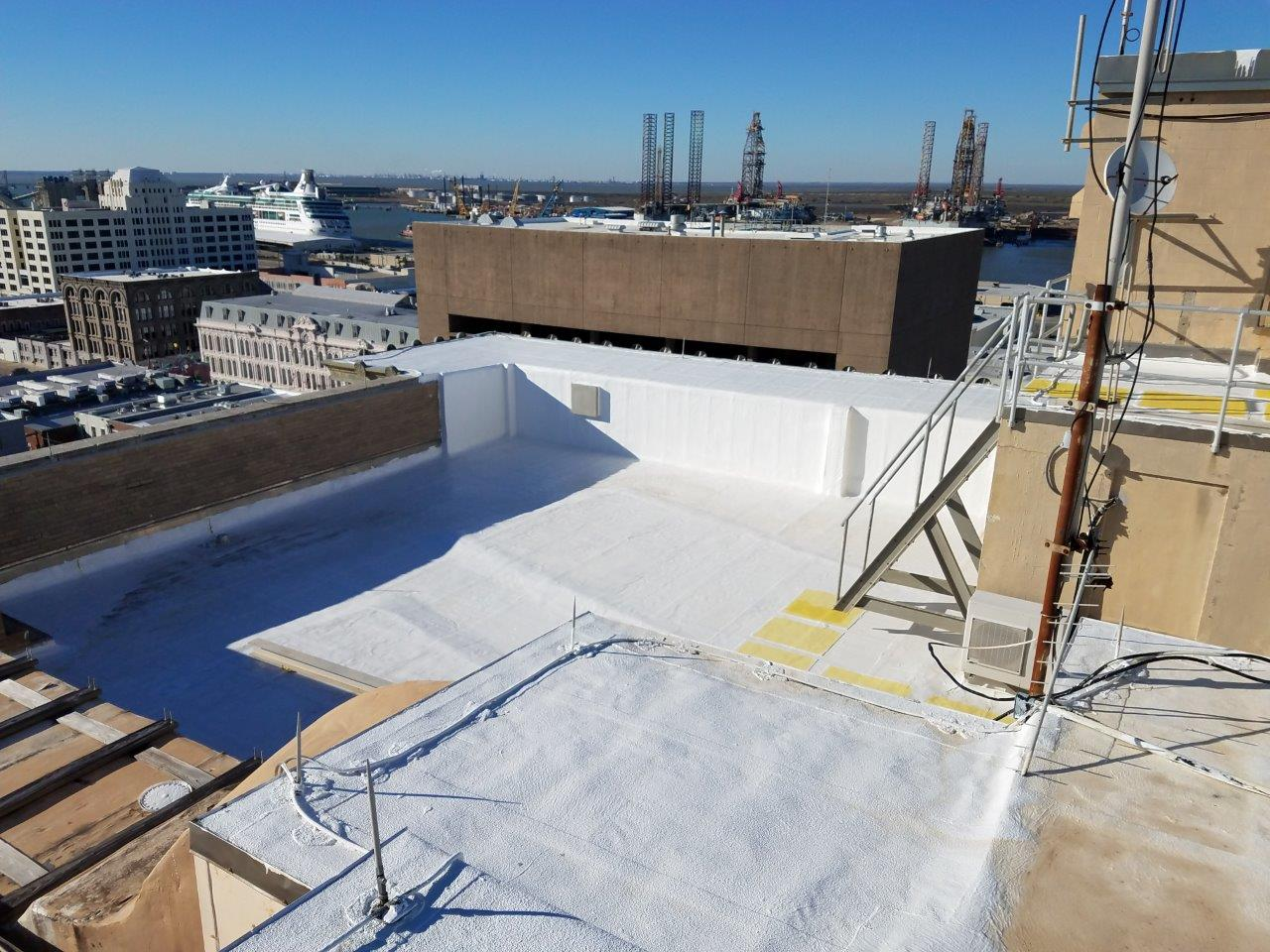 Commercial Flat Roof Replacement & Restoration - Houston, TX
