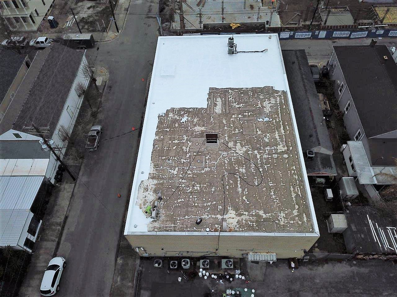 Multiuse New Orleans Flat Roof Tech